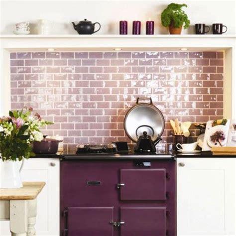kitchen backsplash panels uk vignette design purple inspiration pinterest style diy this lilac glass subway tile
