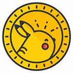Pokemon Coin Icon Icons Gaming Chegg Money