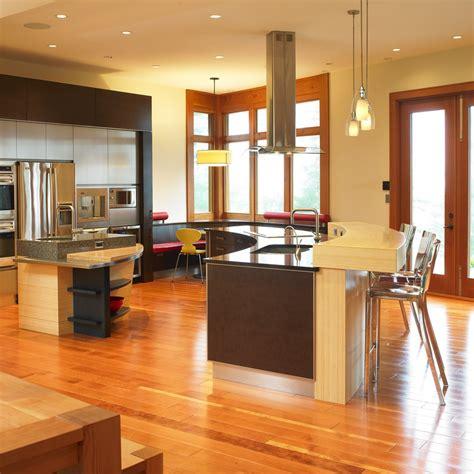 cuisine ouverte refermable idee deco cuisine ouverte sur salon maison design