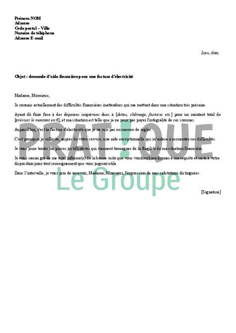 modele lettre demande d emplacement commerce ambulant modele lettre d aide financiere contrat de travail 2018