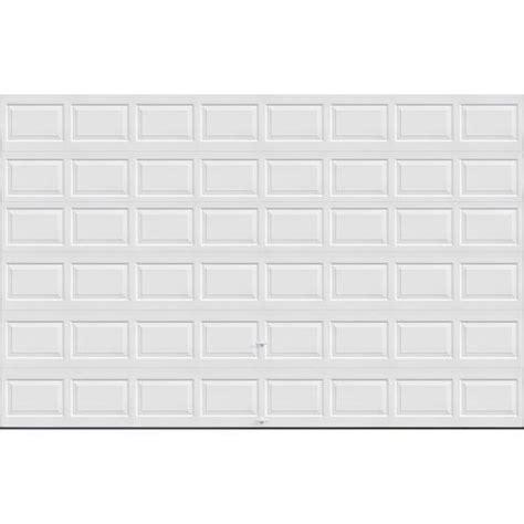 16 x 9 insulated garage door ideal door 174 3 standard value non insulated garage