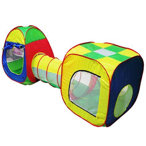 tente enfant avec tunnel