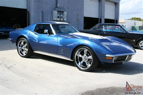 1972 Corvette Coupe Pro-touring Fuel Injected Tuneport