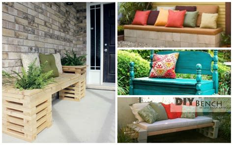 Interior Bench Ideas by 20 Diy Garden Bench Ideas That Are Out Of The Ordinary
