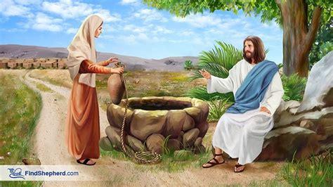 jesus   samaritan woman