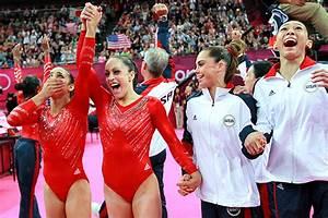 2012 London Olympics -- U.S. women win first gymnastics ...