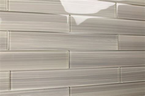 gray glass subway tile gainsboro gray 2x12 glass tile