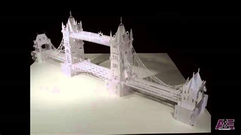 tower bridge london origamic architecture youtube