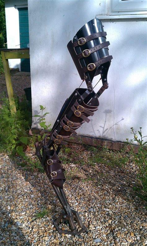 steampunk mechanical leg cosplay pinterest design