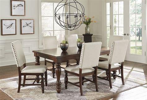 sanctuary cherry dining room set pro   progressive