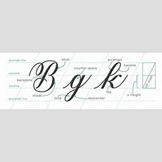 Modern 3 Basic Strokes Calligraphyorg