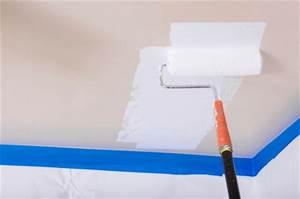 Decke Mit Rollputz Streichen : decke streichen so wird 39 s gemacht ~ Michelbontemps.com Haus und Dekorationen