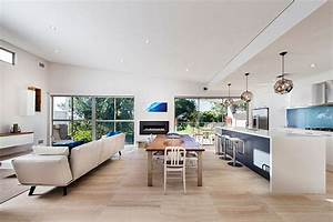 Open Floor Kitchen Dining And Living Space Idea Featured