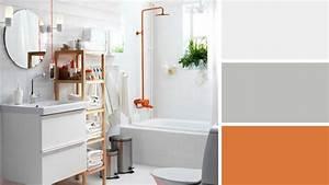 salle de bains les couleurs tendance 2017 With peinture de salle de bain tendance