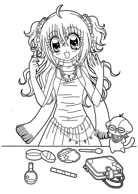 Sa sortie nationale en france a lieu. Coloriage Kilari manga dessin à imprimer sur COLORIAGES .info