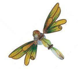 amazoncom copper dragonfly magnet    pc random refrigerator magnets kitchen dining