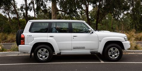nissan patrol st  review  caradvice