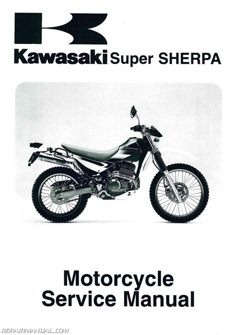 motocross bike repairs 1997 2010 kawasaki kl250g super sherpa motorcycle service