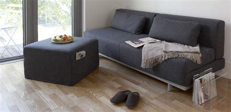 Couch, Ottoman, Acrylic Magazine Rack