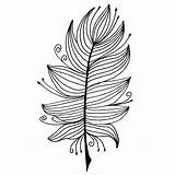 Quill Coloring Pen Illustrations sketch template