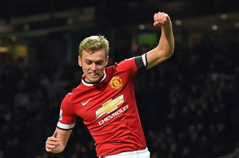 man utd striker james wilson set     cent pay