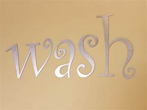 Galvanized steel metal craft letters for Metal craft letters