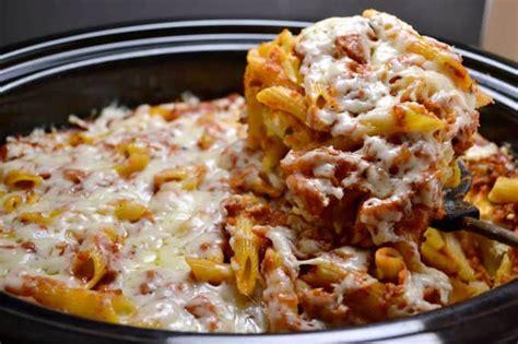 east crock pot recipes easy crockpot baked ziti build your bite