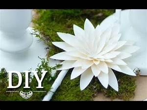 Deko Kitchen : diy h bsche dahlien aus papier selber machen deko kitchen youtube ~ A.2002-acura-tl-radio.info Haus und Dekorationen