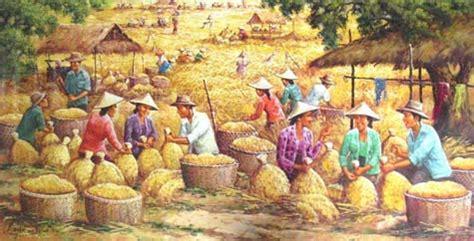 cerita rakyat legenda asal usul padi beritauniknet