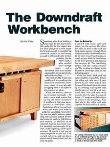 Downdraft Table Plans  U2022 Woodarchivist