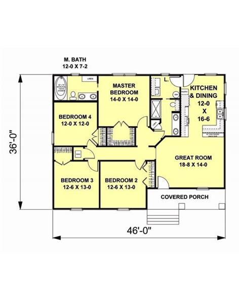 AmazingPlans.com House Plan #DH 1541   Country, Southern