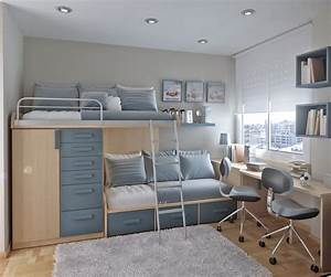 50 thoughtful teenage bedroom layouts digsdigs for Bedroom interior design for teenage boys