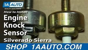 How To Install Replace Engine Knock Sensor 2000