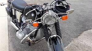 Bmw R60  5 1971  Solo Seat  Free-flow  Restored