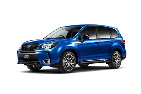 subaru releases ps forester ts  japan