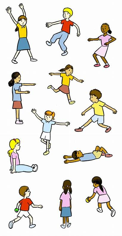 Pe Physical Clipart Education Gym Clip Elementary