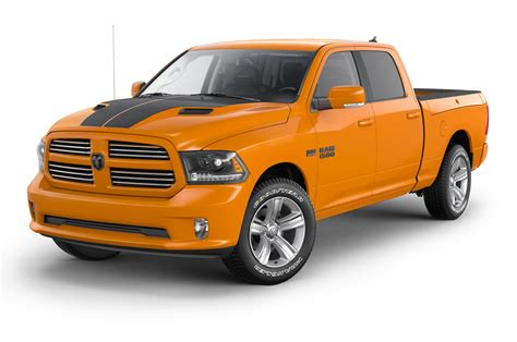 ram  ignition orange sport black sport editions