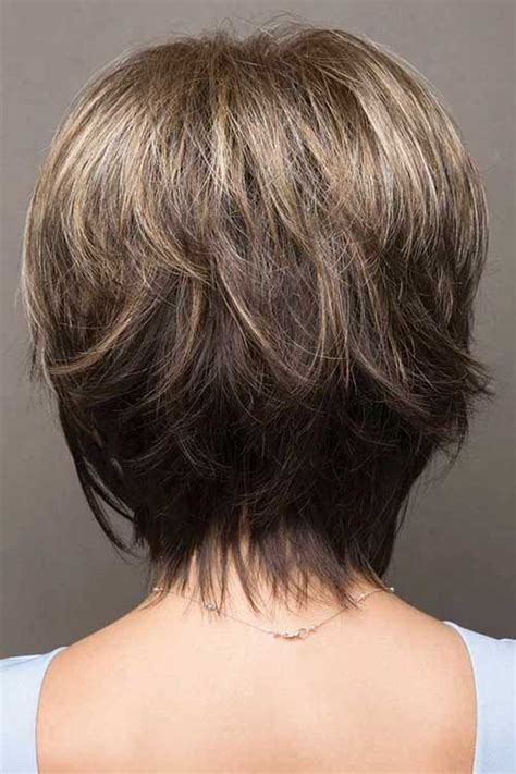 To keep up the shape daily, she uses devacurl volumizing foam followed with either a curl gel or cream depending on the season and what her hair needs. 70+ Best Short Layered Haircuts for Women Over 50   Short ...