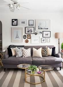 Graues Sofa Kombinieren : 1001 sofa grau beispiele warum sie ein sofa genau ~ Michelbontemps.com Haus und Dekorationen