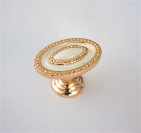 white cabinet handles and knobs aliexpress com buy gold and white cute cabinet drawer