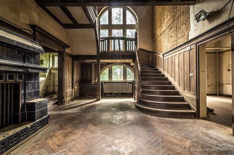 Alte Villa Innen by Villa Wooden Stairs Die Verlassenen Orte