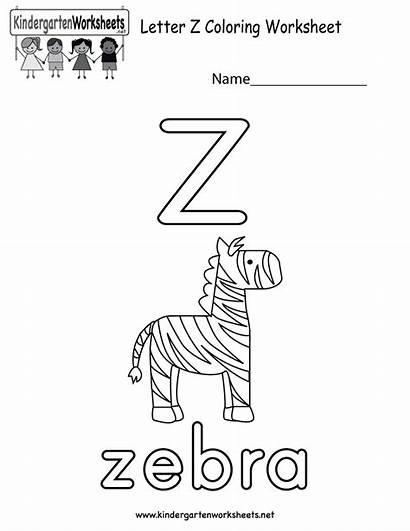 Worksheets Alphabet Worksheet Coloring Kindergarten Letter Preschoolers