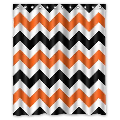 Grey And White Chevron Fabric by Best Orange Chevron Shower Curtain Best Chevron Stuff