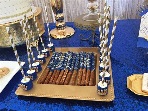 prince baby shower party ideas photo