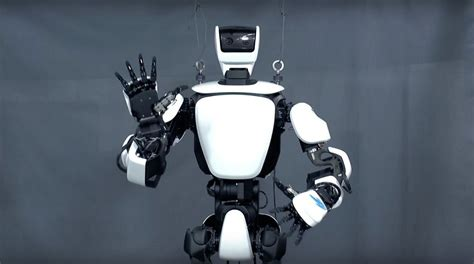 Toyota Robot by Toyota S Humanoid Robot Aces Operator Mimicry