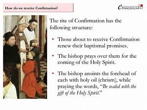 Baptism And Confirmation