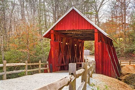 visit americas  idyllic covered bridges