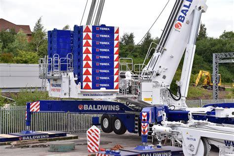 Baldwins AC 1000-9 | 102m Luffing jib, Salford 7-8-2016 ...