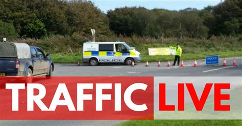 Busy Devon Route Shut As Motorcyclist Airlifted From Crash