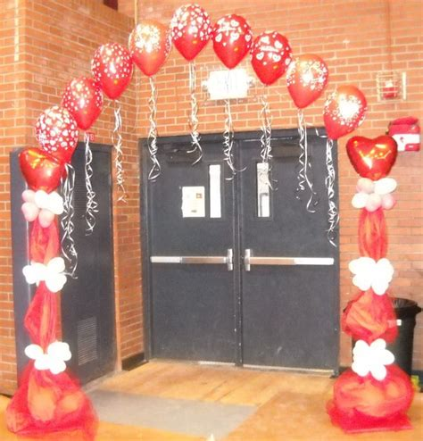 Entryway arch for a Valentine party or dance | Valentine ...